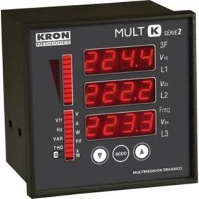 Mult-k Série 2 Multimedidor De Energia - Kron