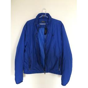 57acb1e9fe6bf Jaqueta Polo Ralph Lauren Com Capuz Embutido - Tamanho G