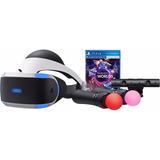 Playstation 4 Vr + Camara + 2 Controles Move Motion Nuevo