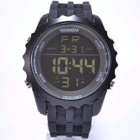 Relógio Masculino Original Potenzia Digital Cronômetro Top!!