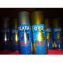 Pintura En Spray Plata Artificial Color Metal Importado