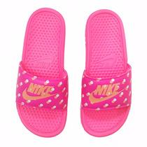 Chinelo Sandália Nike Benassi Jdi Print 618919 Original + Nf