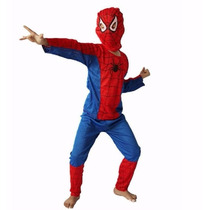 Fantasia Infantil Homem Aranha Criança Cosplay Festa Herói