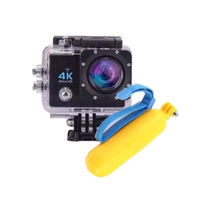 Action Camera 4k Com Wi-fi 16mp + Boia Flutuadora Go Pro