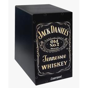 Mini Cajon Estampa Jack Daniels Liverpooll Caj Jd