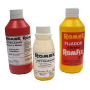 Kit Quimicos Romek P/ Revelado Papel Byn 1 Lt (9421)