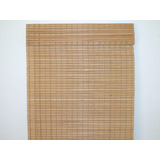 Persiana Horizontal De Bambu Na Cor Imbuia 1,20x1,60 Cortina