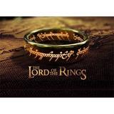 Anillo El Señor De Los Anillos - The Lord Of The Rings 6mm
