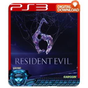 Resident Evil 6 Ps3 Psn Midia Digital Imediato - Hoje