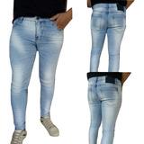 Calça Jeans Claro Com Elastano (super Slim) Austin Club