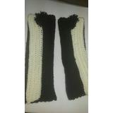 Polainas De Lana Tejidas Al Crochet Diseño De Invierno