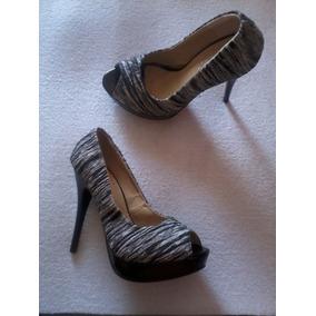 Precioso Zapato Bicolor Numero 35 37 38 Nuevo