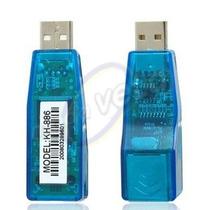 Adaptador Usb Ethernet Red Lan Rj45 A Usb Convertidor 100 Mb