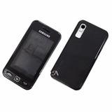 Carcaça Completa Samsung Star Gt S5230 Preto (s/ Touch)