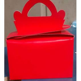 Caixa Maleta Lisa Vermelha (10 Caixas)