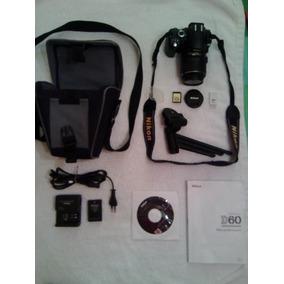 Camara Reflex Digital Nikon D60