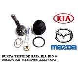 Punta De Tripoide Kia Rio / Mazda 323 / Rio Stylus 22x24x55