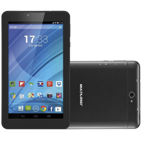Tablet M7, Dual Chip, Preto, Tela 7 , 2mp, 8gb - Multilaser