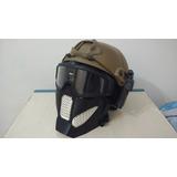 Máscara Airsoft Y Paintball