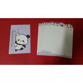 Lote Papel De Carta Panda Importado