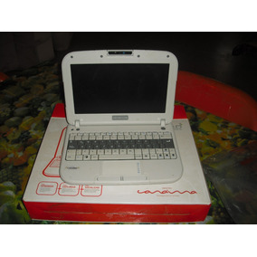 Lapto Mini Canaima Letras Rojas Para Reparar O Repuesto