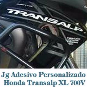 Kit Adesivo Transalp Xl 700 ( Personalizado) Guga Tuning