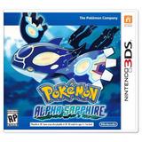 Pokemon Alpha Sapphire Nintendo Sellado | Fisico | 3ds | Loc