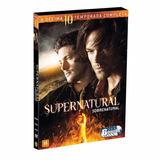 Box Supernatural 10ª Temporada - 6 Dvds - Original - Lacrado