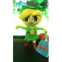 Peluche Toon Link Original Nintendo Zelda Wind Waker+llavero