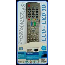 Control Remoto Tv Universal Lcd Led Rm-l815 Nuevo En Blister
