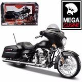 Moto Harley Davidson Street Glide Coleccion Esc1:12 Metalica