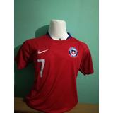 Camiseta Selección Chilena Niño Nuevo Modelo 2018 Nueva!!