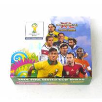 10 Caixas 24 Envelopes Cards Copa Do Mundo 2014 Panini