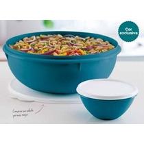 Tupperware Tigela Saladeira 6,5 Litros + Maravilhosa 500ml