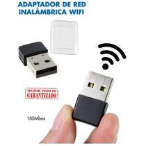 Mini Wifi Usb Tarjeta Antena Pendrive 150mbps (sin Blister)