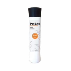 Pet Life Avena Shampoo Dermo Hidratante Para Perro Y Gato