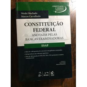Constituição Federal Anotada Pelas Bancas Esaf