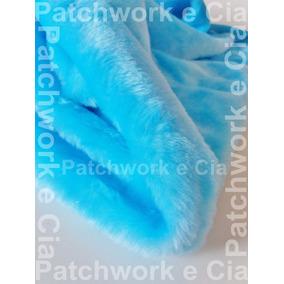 Tecido Pelucia Patchwork Ursinho Chinelos Artesanato Jaqueta