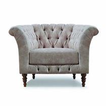 Sofa Capitone 1 Lugar Poltrona Stillus Várias Cores