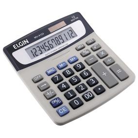 02a39970493 Calculadora Mesa 12 Digitos Eletronica Elgin Mv 4123