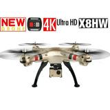 Dron Drone Zyma X8hw Con Cámara 4k 16mp Sj9000 Wifi
