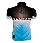 Camiseta De Bike Proteção Uv King Brasil 3 Bolsos - Pedal 02