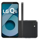 Celular Smartphone Lg Q6 Preto - Tv Digital, Dual Chip