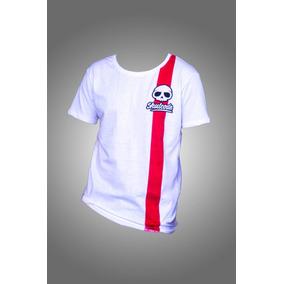 Polo Piqué Rojo Liso Con Cuello Y Puño Multiraya. Jalisco · Playera Cuello  Redondo Blanca Edición Especial Skulcode 581b3b5c2a9bd