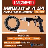 Pistola Jateamento Arprex Ja 3a 80psi Mangueira Sucção