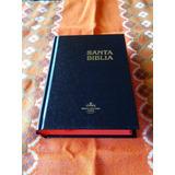 Biblia Reina Valera 1960 Tapa Dura Canto Rojo Papel Blanco