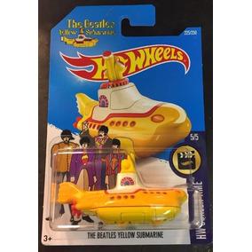 Hot Wheels Basico The Beatles Yellow Submarine Nuevo!