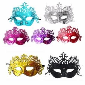 Kit 30 Máscaras Gala Luxo Veneza Carnaval - Cores Sortidas