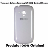 Tampa Traseira Original Samsung Galaxy S3 Mini Branco 8190