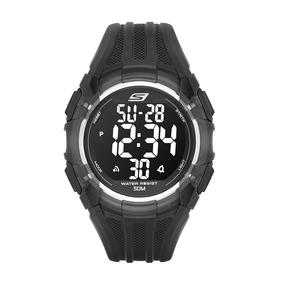Skechers Sr1008 Reloj Digital Multifunción Para Hombre Exten